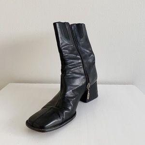 VINTAGE Donald J Pliner Leather Boots